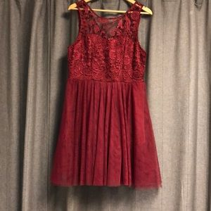 Forever 21 tulle and lace dress